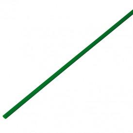 Термоусадочная трубка 2,0/1,0 мм, зеленая, упаковка 50 шт. по 1 м PROconnect