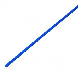 Термоусадочная трубка 2,0/1,0 мм, синяя, упаковка 50 шт. по 1 м PROconnect