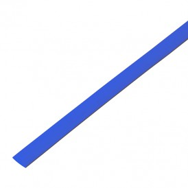 Термоусадочная трубка 6,0/3,0 мм, синяя, упаковка 50 шт. по 1 м PROconnect