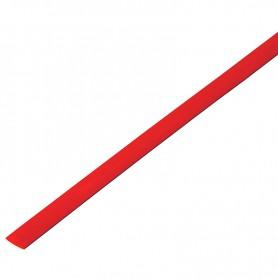 Термоусадочная трубка 10/5,0 мм, красная, упаковка 50 шт. по 1 м PROconnect