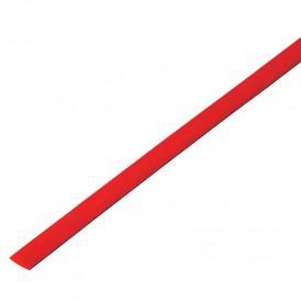 Термоусадочная трубка 16/8,0 мм, красная, упаковка 50 шт. по 1 м PROconnect