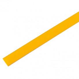 Термоусадочная трубка 25/12,5 мм, желтая, упаковка 10 шт. по 1 м PROconnect