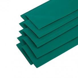 Термоусадочная трубка 40/20 мм, зеленая, упаковка 10 шт. по 1 м PROconnect