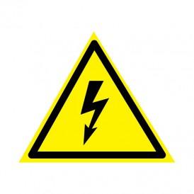 Наклейка знак электробезопасности «Опасность поражения электротоком» 160х160х160 мм REXANT