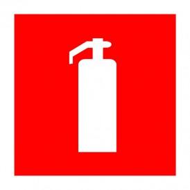 Наклейка знак пожарной безопасности «Огнетушитель» 150х150 мм REXANT