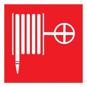 Табличка ПВХ знак пожарной безопасности «Пожарный кран» 200х200 мм REXANT