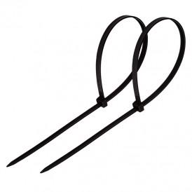 Хомут-стяжка кабельная нейлоновая PROconnect 200 x2,5 мм, черная, упаковка 100 шт.
