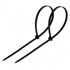 Хомут-стяжка кабельная нейлоновая PROconnect 350 x4,8 мм, черная, упаковка 100 шт.