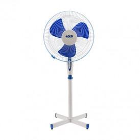 Вентилятор напольный DUX DX-16, 40 Вт, 220V, цвет белый/синий