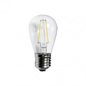 Ретро лампа Filament ST45 E27, 2W, 230В Теплая белая 3000K