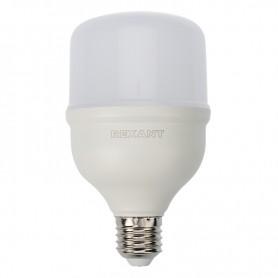 Лампа светодиодная высокомощная 30 Вт E27 с переходником на E40 2850 лм 6500 K холодный свет REXANT