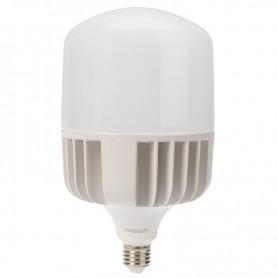 Лампа светодиодная высокомощная 100 Вт E27 с переходником на E40 9500 лм 6500 K холодный свет REXANT