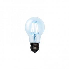 Лампа филаментная REXANT Груша A60 7.5 Вт 750 Лм 4000K E27 прозрачная колба