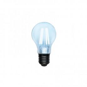 Лампа филаментная REXANT Груша A60 9.5 Вт 1140 Лм 4000K E27 диммируемая, прозрачная колба