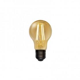 Лампа филаментная REXANT Груша A60 11.5 Вт 1380 Лм 2400K E27 золотистая колба