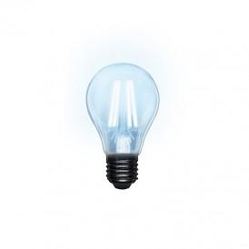 Лампа филаментная REXANT Груша A60 13.5 Вт 1600 Лм 4000K E27 прозрачная колба