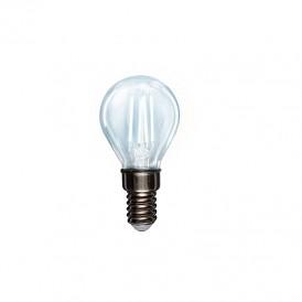 Лампа филаментная REXANT Шарик GL45 7.5 Вт 600 Лм 4000K E14 прозрачная колба