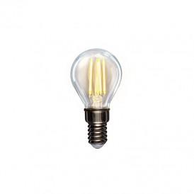 Лампа филаментная REXANT Шарик GL45 7.5 Вт 600 Лм 2700K E14 диммируемая, прозрачная колба