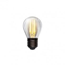 Лампа филаментная REXANT Шарик GL45 7.5 Вт 600 Лм 2700K E27 диммируемая, прозрачная колба