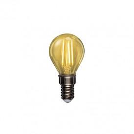 Лампа филаментная REXANT Шарик GL45 9.5 Вт 950 Лм 2400K E14 золотистая колба