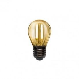 Лампа филаментная REXANT Шарик GL45 9.5 Вт 950 Лм 2400K E27 золотистая колба