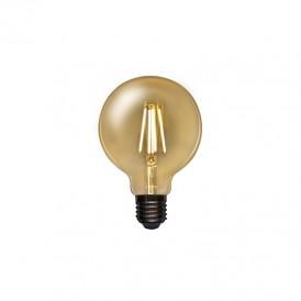 Лампа филаментная REXANT Груша A95 11.5 Вт 1380 Лм 2400K E27 димируемая золотистая колба