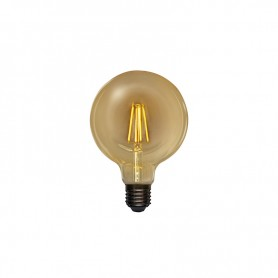 Лампа филаментная REXANT Груша A125 11.5 Вт 1380 Лм 2400K E27 диммируемая золотистая колба