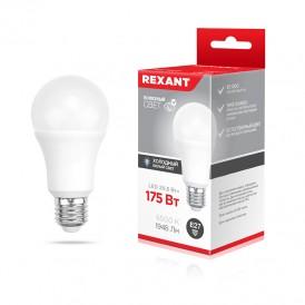 Лампа светодиодная Груша A60 20,5 Вт E27 1948 Лм 6500 K нейтральный свет REXANT