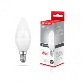Лампа светодиодная Свеча (CN) 9,5 Вт E14 903 Лм 6500 K нейтральный свет REXANT