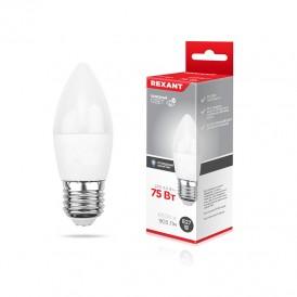 Лампа светодиодная Свеча (CN) 9,5 Вт E27 903 Лм 6500 K нейтральный свет REXANT