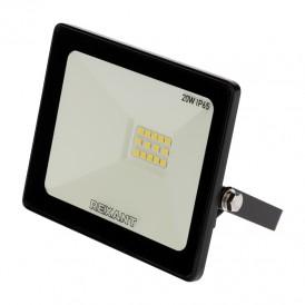 Прожектор светодиодный 20 Вт 200–260В IP65 1600 лм 6500 K холодный свет REXANT