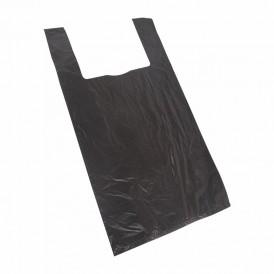 Пакет майка ПНД 30+16*60, 15мкм черная (100шт./уп)