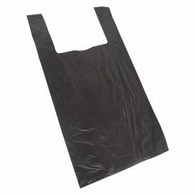 Пакет майка ПНД 42+20*75, 15мкм черная (100шт./уп)