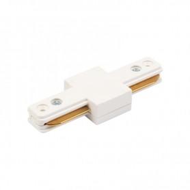Коннектор для однофазного шинопровода I-образный REXANT белый