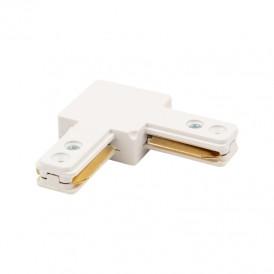 Коннектор для однофазного шинопровода L-образный REXANT белый