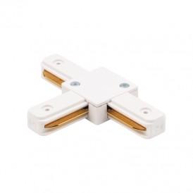 Коннектор для однофазного шинопровода T-образный REXANT белый