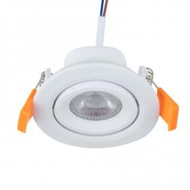 Светильник встраиваемый поворотный REXANT Bagel 5 Вт 4000 К LED