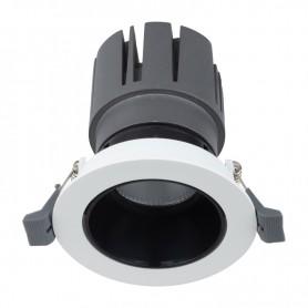 Светильник встраиваемый поворотный REXANT Horeca Dark Light с антиослепляющим эффектом 12 Вт 4000 К LED BLACK