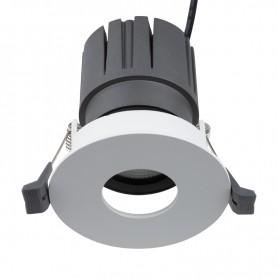 Светильник встраиваемый поворотный REXANT Horeca Dark Light с антиослепляющим эффектом 12 Вт 4000 К Ring LED WHITE