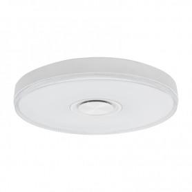 Светильник настенно-потолочный REXANT Fobos Melody 2700-6500 K RGB Bluetooth Sound с пультом и APP LED