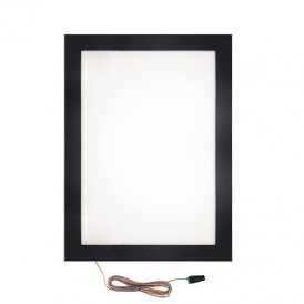 Подвесная односторонняя световая панель с креплением на тросах Постер Magnet LED 841х1189, 29 Вт REXANT