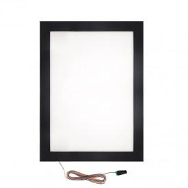 Подвесная односторонняя световая панель с креплением на тросах Постер Magnet LED 1000х1500, 36 Вт REXANT