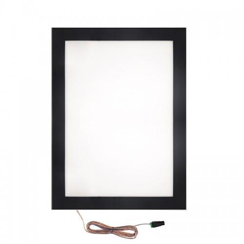 Подвесная двухсторонняя световая панель с креплением на тросах Постер Magnet LED 1000х1400, 34 Вт REXANT
