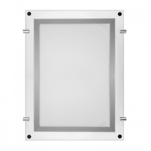 Бескаркасная подвесная двухсторонняя световая панель Постер Crystalline Round LED ø 700, 18 Вт REXANT