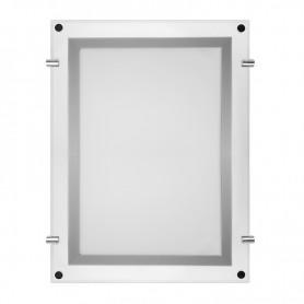 Бескаркасная подвесная двухсторонняя световая панель Постер Crystalline Round LED ø 1000, 27 Вт REXANT