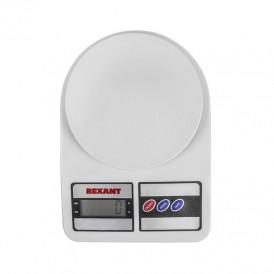 Весы настольные электронные, универсальные, от 1 гр. до 5 кг, пластик  REXANT