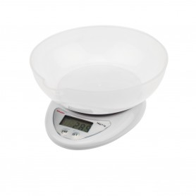 Весы настольные электронные, кухонные с чашей до 5 кг  REXANT