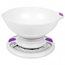 Весы настольные кухонные с чашей, механические до 3 кг (IR-7131)  IRIT