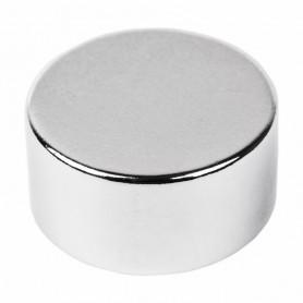 Неодимовый магнит диск 20х10мм сцепление 11, 2 кг (Упаковка 1 шт) Rexant