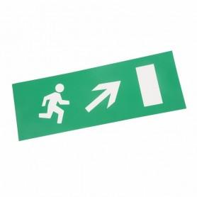 Наклейка для аварийного светильника